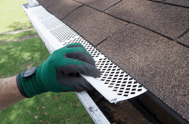 perforated gutter guards